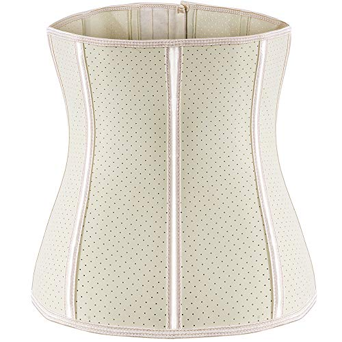 ECOWALSON Waist Trainer for Women Corset Cinher Body Shaper with Steel Bones and Extender 7