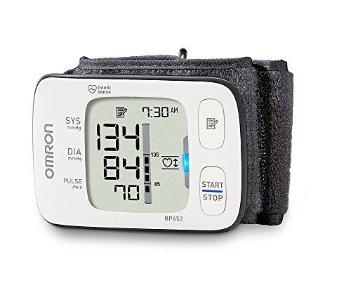 Omron 7 Series Wrist Blood Pressure Monitor; 100-Reading Memory with Heart Zone Guidance and UltraSilent Inflation byOmron