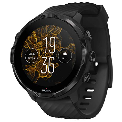 Suunto 7 Smartwatch with a Diverse Sports Experience and Wear OS by Google, black