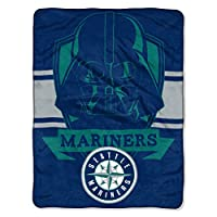 "Features Darth Vader above MLB team logo Soft and warm micro raschel fabric; decorative binding around all edges Measures 46""W x 60""L Machine wash cold separately using delicate cycle and mild detergent. Do not bleach. Machine dry separately on gentl..."