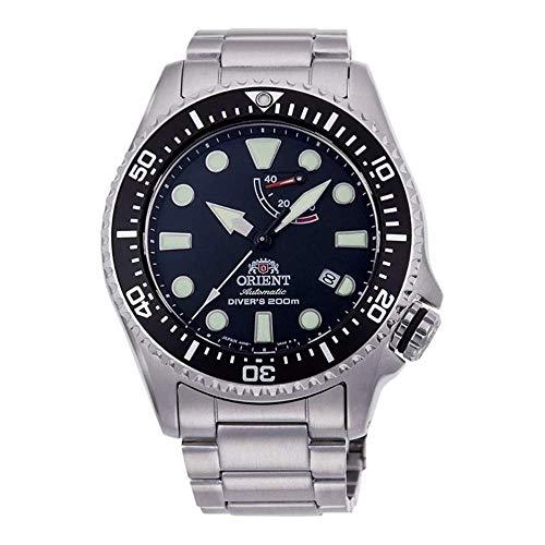 Orient Herren Analog Automatik Uhr mit Edelstahl Armband RA-EL0001B00B