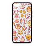 Tea Time with Donut IPhone7 Plus,iphone8 Plus Case Protective Sleeve Scratch-Resistant CoolClassic Skin Accessories