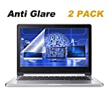 2 Pack 13.3' Anti Glare Screen Protector Compatible 13.3' Dell Inspiron 13/13.3' Acer Chromebook R 13/13.3' ASUS ZenBook 13/13.3' Lenovo Yoga 720/13.3' HP Spectre