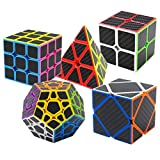 Coolzon Speed Cube Ensemble Pyraminx + Megaminx + 2x2x2 + 3x3x3 + Skewb 5 Pack...