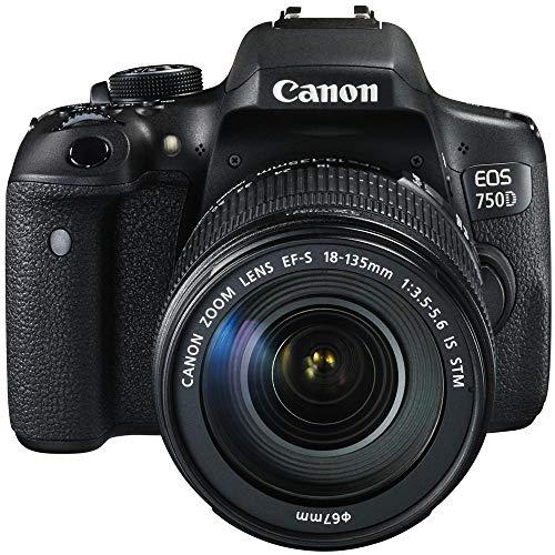 Canon EOS 750D / Rebel T6I / EOS Kiss X8I 18-135/3.5-5.6 EF-S is STM Appareils Photo Numériques 24.7 Mpix