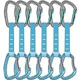 Petzl Lote de 5 Mosquetones de Seguridad, Unisex, para Adulto, 12 cm, Color Azul