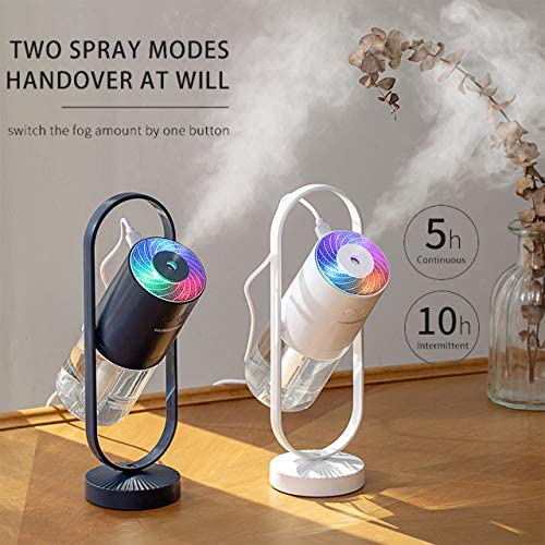 fuliying Cool mist humidifier-Portable mini humidifier with led lights,usb portable air humidifier ultra-quiet, Suitable for Babies, Kids, Indoor, Bedroom, Office, Car, Travel 16