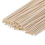 HOSSIAN Set of 100 Reed Diffuser Sticks - Wood Rattan-Reed Sticks -Diffuser Glass Bottles-Diffuser Refills- Spa-Aromatherapy(7' 17cm)