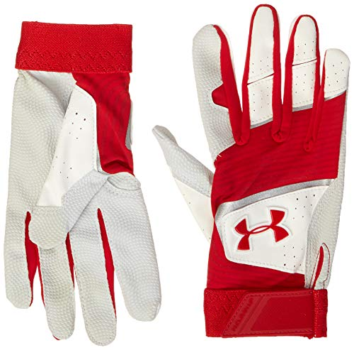 Under Armour Boys' Youth Clean Up 19 Baseball Glove, Red (600)/Red, Youth Medium