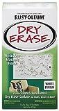 Rust-Oleum 241140 Dry Erase Brush-On Kit, 1 Pack, White