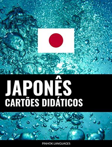 Cartões didáticos em japonês: 800 cartões didáticos importantes de japonês-português e português-japonês