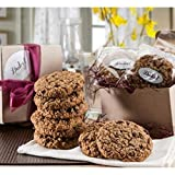 Dulcet Gift Baskets 12 Old Fashioned Fresh Baked Oatmeal Raisin Breakfast Cookies -Gourmet Kraft Box – Certified Kosher- Birthday, Sympathy or Thank You
