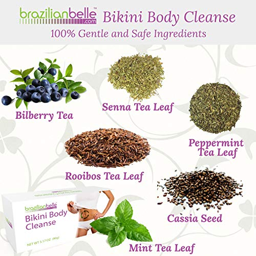 Bikini Body Colon Cleanse Tea- Best Nighttime Detox Tea on Amazon - Improves Digestion, Manages Weight, Reduce Bloating and Constipation 4