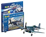 Revell - 63983 - Maquette D'aviation - Vought F4u-1d Corsair - 63 Pièces -...