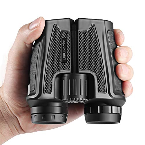 APEMAN 12x25 Compact Folding Binoculars for Adults Kids, Professional High Powered Binoculars with Weak Light Night Vision Clear Ideal for Bird Whale Watching Outdoor Sports Games and Concerts