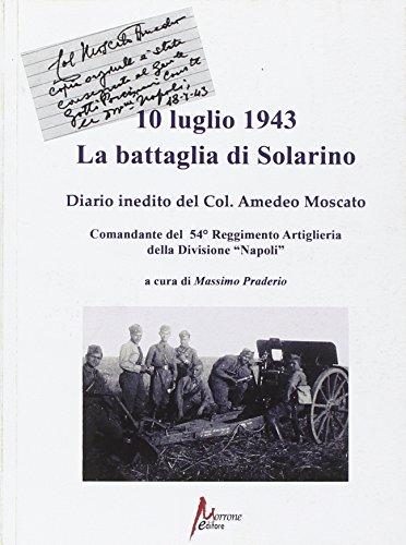10 luglio 1943. La battaglia di Solarino