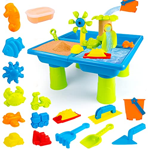 UNIH Beach Toys for 1-3 Year Old Boy Girls, Water Sand Table...