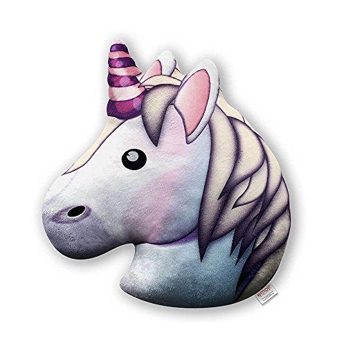 Emoji- Cojín Unicornio Oficial, Estampado (PIW_Unicorn_EB)