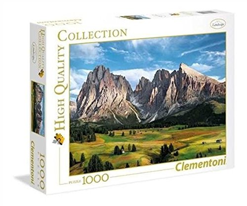 Clementoni- Coronation of The Alps Collection Puzzle, 1000 Pezzi, 39414