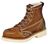 Thorogood Men's American Heritage 6' Moc Toe, MAXWear 90 Safety Toe Boot
