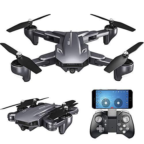 Goolsky Drone VISUO XS816 con Telecamera 4K WiFi FPV Flusso Ottico Posizionamento del Gesto Fotografia Quadricottero Pieghevole Altitudine Tenere Drone