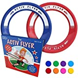 Activ Life Flying Rings [Red/Blue] Fun Easter 2020 Kids Gifts for Boys Age 8, Young Girls & Even Toddler Toys - Great Easter Basket Stuffing for Kids - Cool Children Birthday Presents