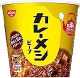 日清食品 カレーメシ ビーフ 107gx6個