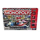Monopoly Gamer Mario kart: jeu de société où le but du jeu est de gagner des courses, ramasser des pièces et acheter des propriétés pour gagner ! a chaque passage sur la case départ, lancez une course pour gagner des bonus et retrouvez également tous...