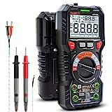 Multimètre Automatique Numérique, TRMS 6000 Points (Guide de Bornes LED),...