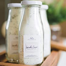 Lavender Cream Bath Milk Soak. All Local Ingredients In A Glass Bottle And Made In The..
