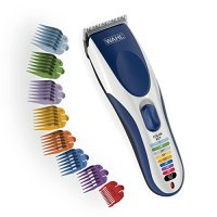 Wahl Color Pro Cordless Rechargeable Hair Clipper & Trimmer – Easy Color-Coded Guide Combs - for...