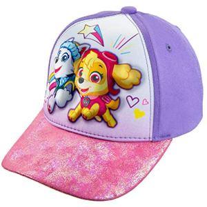 Nickelodeon Toddler Girls' Paw Patrol 3D Cotton Baseball Cap Hat Age 2-5