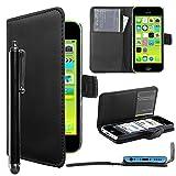 ebestStar - Coque Compatible avec iPhone 5C Apple Etui PU Cuir Housse...