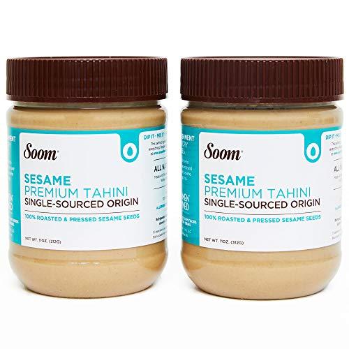 Soom Foods Pure Ground Sesame Tahini