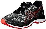 ASICS Men's Gel-Nimbus 20 Running Shoes, 8.5M, Black/Carbon
