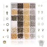 Jeteven 3000psc Accessoires de Bijoux DIY Kit Fabrication de Bijoux avec...