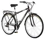 Schwinn Discover Hybrid Bike for Men and Women, 21-Speed, 28-inch Wheels, 18-inch/Medium Frame, Black