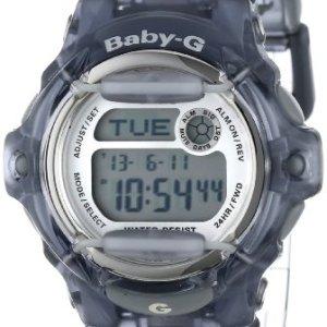 """Casio Women's BG169R-8 """"Baby-G"""" Gray Resin Sport Watch"""