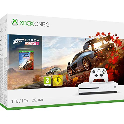 Pack Xbox One S 1 To - Forza Horizon 4 + codes Gears of War 4