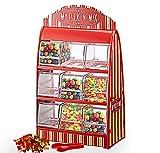 Cepewa Distributeur de bonbons rétro avec pince, distributeur de bonbons...