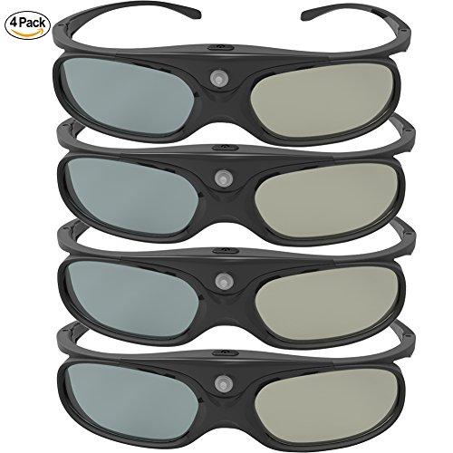 DLP Link 3D Glasses, GooDee Ultra-Clear...