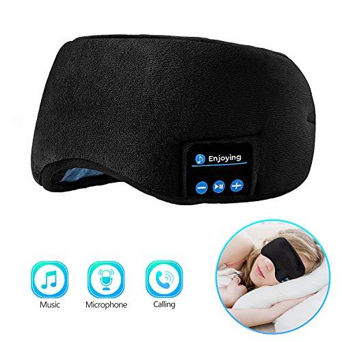 Bluetooth Sleeping Eye Mask Sleep Headphones, Joseche...