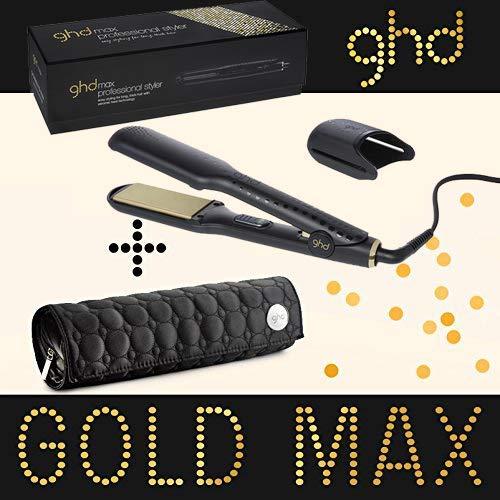GHD Gold MAX Serie V-Misura Grande+Pochette GHD