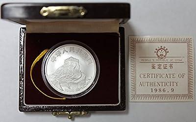 Face Value: 5 Yuan Diameter: 36mm Weight: 26.6g Fine Silver: 24g