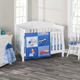 3 Piece Boys Crib Bedding Set - Little Rescuer - Includes Quilt, Fitted Sheet and Dust Ruffle - Nursery Bedding Set - Baby Crib Bedding Set