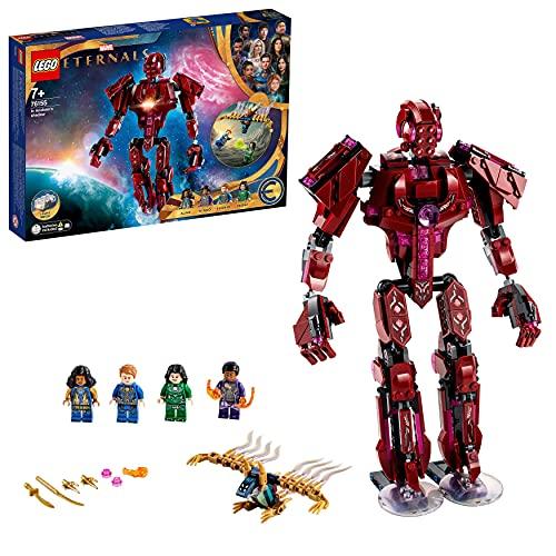 LEGO 76155 Marvel In Arishems Schatten, Superhelden-Spielzeug für Kinder ab 7 Jahren, Action-Figur...
