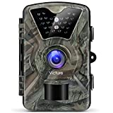 Victure Trail Game Camera 1080P 12MP Wildlife Camera Motion Activated Night Vision...