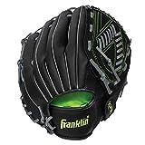 Franklin Sports Baseball and Softball Glove - Field Master - Baseball and Softball Mitt, Black, 13'
