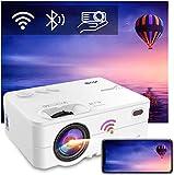 Videoprojecteur WiFi Portable - Artlii Enjoy 2, Mini Projecteur Connexion Bluetooth, Retroprojecteur 300'',720P Natif, Soutien 1080P, 6000Lux, Vidéo...