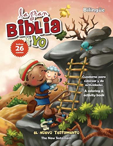 Nuevo Testamento - Cuaderno para colorear y de actividades - Bilingüe: New Testament Coloring and A